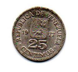 Venezuela - 1977 - 25 Céntimos