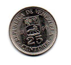 Venezuela - 1990 - 25 Céntimos