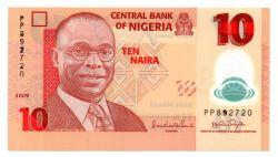 Nigéria - 10 Naira - Cédula Estrangeira