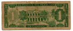 Paraguai - 1 Guarani - Cédula Estrangeira - R