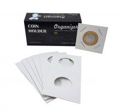 PROMOÇÃO!!! Apenas R$ 7,00 a caixa de Coin Holder Organizer (1 Caixa com 50 Coin Holders de Grampear)