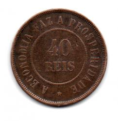 1911 - 40 Réis - Moeda Brasil