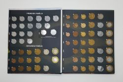 Álbum Completo do Real - Todas Moedas Circulantes e Comemorativas Circulantes Incluindo Casal FAO, Bandeira e Direitos Humanos (exceto moedas 2021)