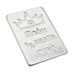 Prata - Barra de 1 grama de Prata Pura .999