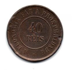 1893 - 40 Réis - Moeda Brasil