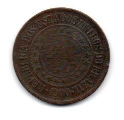 1900 - 40 Réis - Moeda Brasil