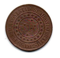1912 - 40 Réis - Moeda Brasil