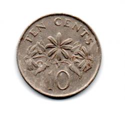 Cingapura - 1989 - 10 Cents