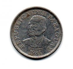 Paraguai - 1984 - 10 Guaranies (F.A.O)