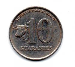 Paraguai - 1988 - 10 Guaranies (F.A.O)