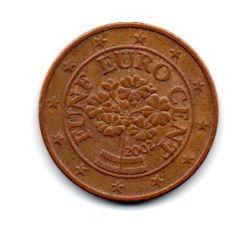 Áustria - 2002 - 5 Euro Cent