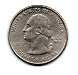 Estados Unidos - 1999P - 25 Cents - Connecticut - State Quarter Dollar