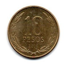 Chile - 2014 - 10 Pesos