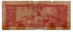 C117 - 10 Centavos (Carimbo sob 100 Cruzeiros) - 2° Estampa - Série 767 - Dom Pedro II - Erro: