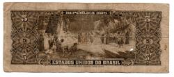 C066 - 5 Cruzeiros - 2° Estampa - Série 982 - Numeração: 000695 - Barão do Rio Branco - Data: 1953 - UTG
