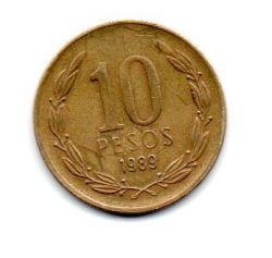 Chile - 1989 - 10 Pesos