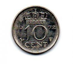 Holanda - 1972 - 10 Cents