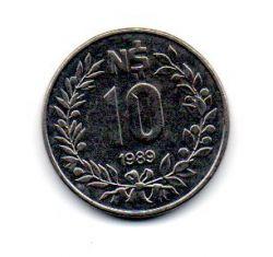 Uruguai - 1989 - 10 Nuevos Pesos