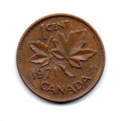 Canadá - 1971 - 1 Cent