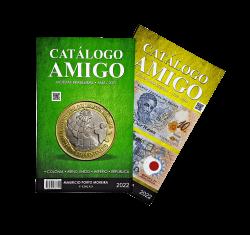 Catálogo  Amigo 2022 - 2 Catálogos Em 1 Livro (Moedas E Cédulas)