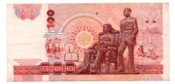Tailândia - 100 Baht - Cédula Estrangeira