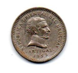 Uruguai - 1953 - 5 Centésimos