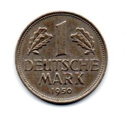 Alemanha - 1950D - 1 Mark