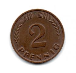 Alemanha - 1962F - 2 Pfennig