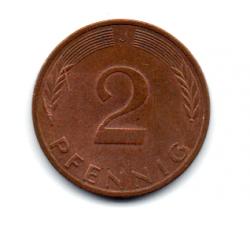 Alemanha - 1976J - 2 Pfennig