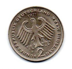 Alemanha - 1971F - 2 Mark