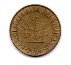 Alemanha - 1966F - 10 Pfennig