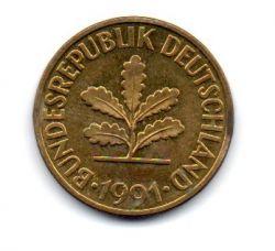 Alemanha - 1991D - 10 Pfennig