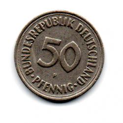 Alemanha - 1950F - 50 Pfennig