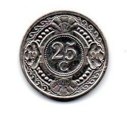 Antilhas Holandesas - 1991 - 25 Cents