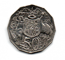 Austrália - 2013 - 50 Cents