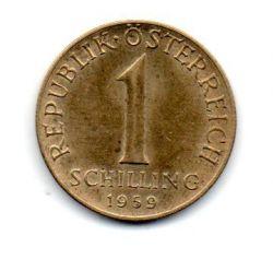 Áustria - 1959 - 1 Schilling