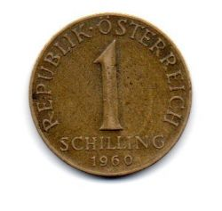 Áustria - 1960 - 1 Schilling