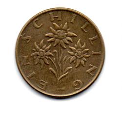 Áustria - 1971 - 1 Schilling