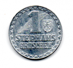 Áustria - 1950 - Token - 1 Stephans Groschen