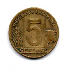 Argentina - 1948 - 5 Centavos