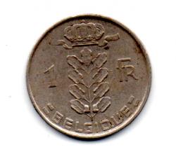 Bélgica - 1952 - 1 Franc Legenda em Frances