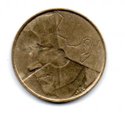 Bélgica - 1987 - 5 Francs Legenda em Flamengo
