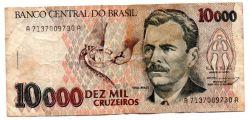 C225 - 10000 Cruzeiros - Vital Brazil - Data: 1993 - Estado de Conservação: Regular (R)