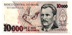 C225 - 10000 Cruzeiros - Vital Brazil - Data: 1993 - Estado de Conservação: Soberba/Flor (SOB/FE)