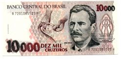 C225 - 10000 Cruzeiros - Vital Brazil - Data: 1993 - Estado de Conservação: Flor de Estampa (FE)