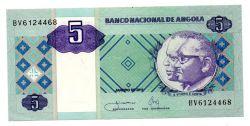 Angola - 5 Kwanzas - Cédula Estrangeira