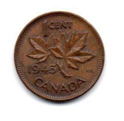 Canadá - 1945 - 1 Cent