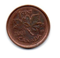 Canadá - 2001 - 1 Cent
