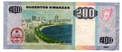Angola - 200 Kwanzas - Cédula Estrangeira