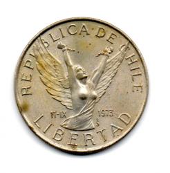 Chile - 1977 - 10 Pesos Comemorativa